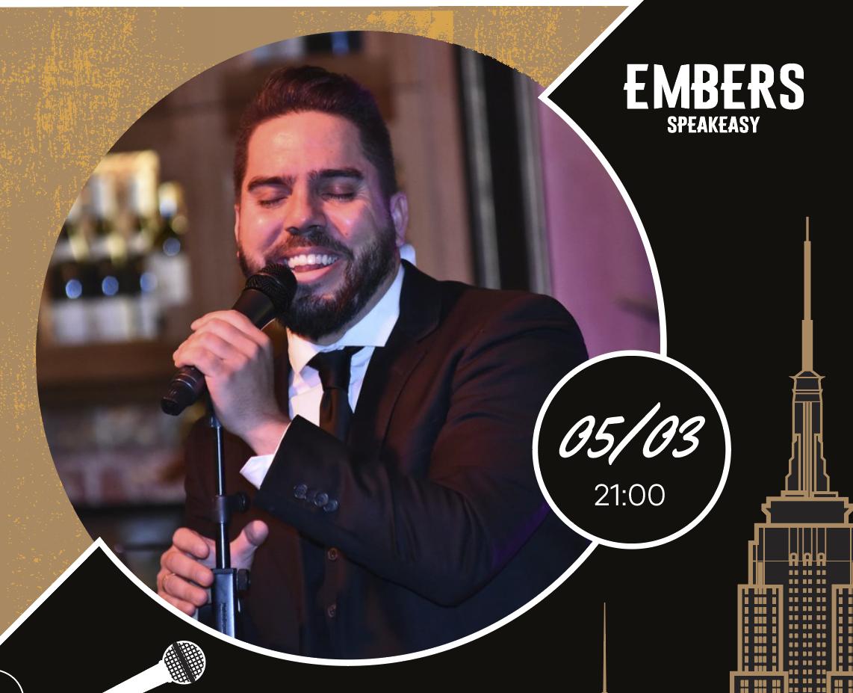 Афиша! Музыкальный исполнитель Andrew Mc Fadden (Испания) 05 марта в Embers Speakeasy