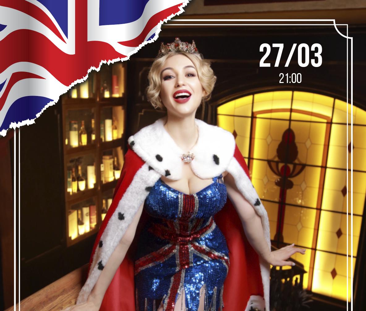 Афиша! 27 Марта — Ночь в Лондоне Dinner Show в Embers Speakeasy.