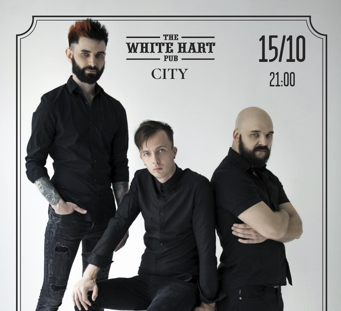 Афиша! 15 октября — Кавер группа GARAGE BAND в White Hart Pub Moscow City