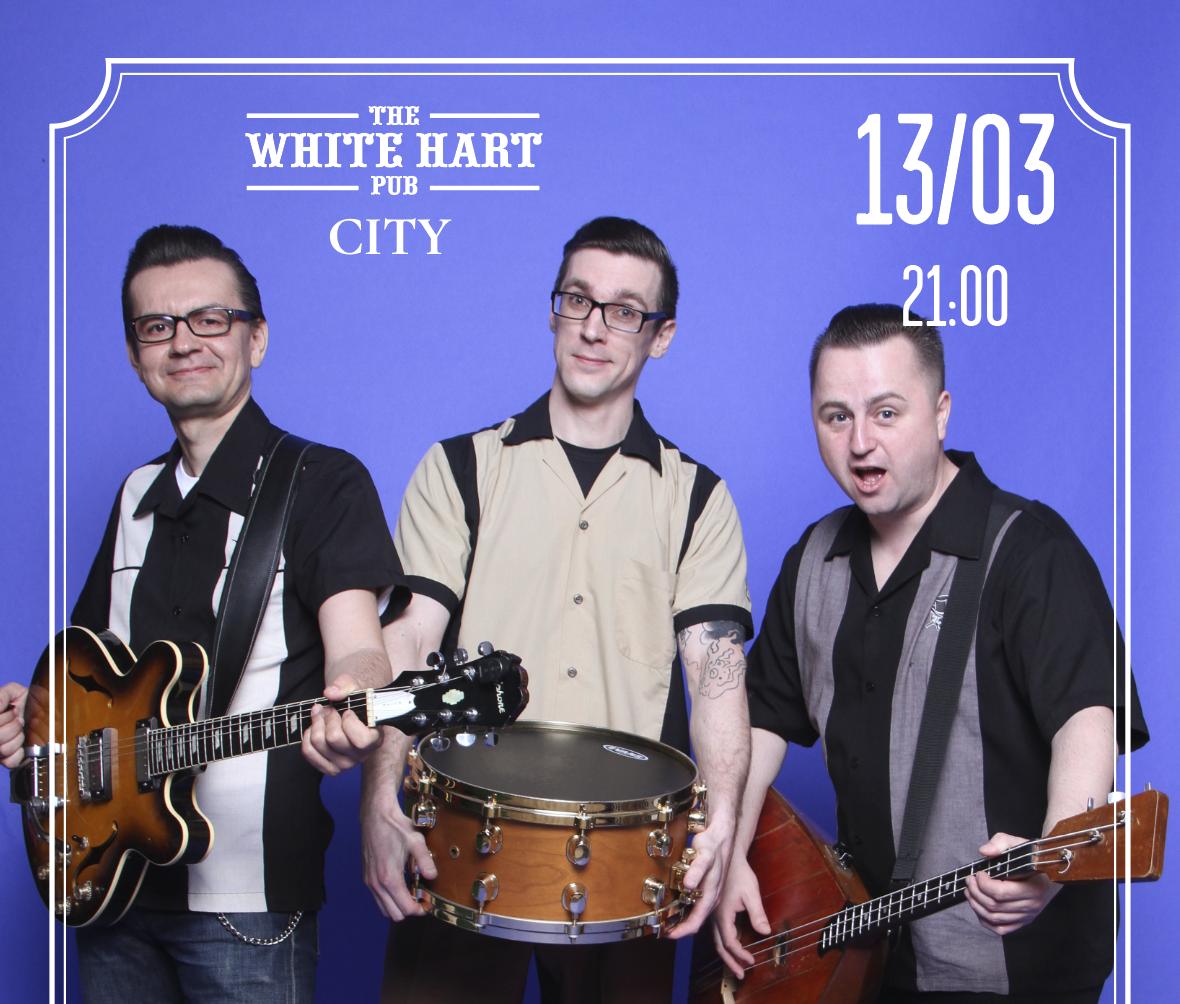 Афиша!13 Марта — Кавер группа Beat Balls Moscow на сцене White Hart Pub Moscow City