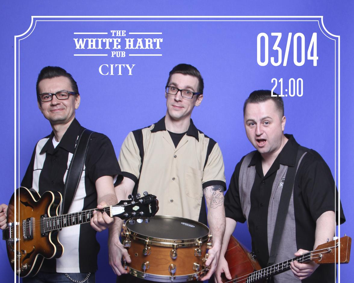 Афиша! 03 Апреля — caver band Moscow Beat Balls в White Hart Pub Moscow City